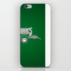 Snakes Slytherin iPhone & iPod Skin