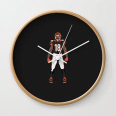 Who Dey? - A.J. Green Wall Clock
