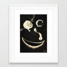 SMILE 3 Framed Art Print