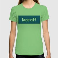 2010 - Face Off Womens Fitted Tee Grass SMALL