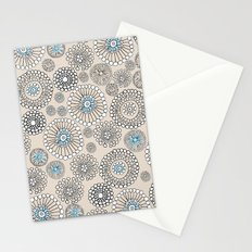 Flower bubble Stationery Cards