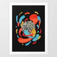 The Flower Fades Art Print