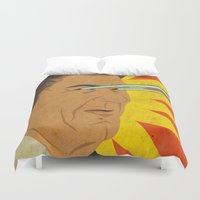Ronald Raygun Duvet Cover