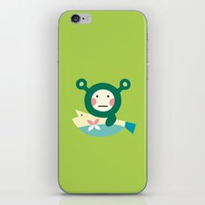 Shrekmon iPhone & iPod Skin