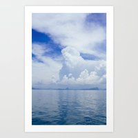 Koh Samui Journey Art Print