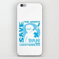 Save the Wampa iPhone & iPod Skin