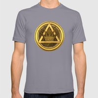 Masonic  Mens Fitted Tee Slate SMALL