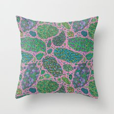 Nugs in Color Throw Pillow
