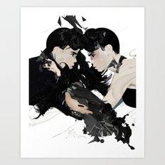 QUARREL Art Print