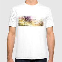 Unexplored Avenues By De… Mens Fitted Tee White SMALL