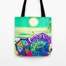 Sea Glass Cheers! Tote Bag