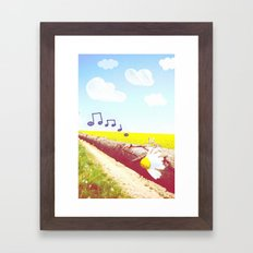 Sunshine & Melody Framed Art Print