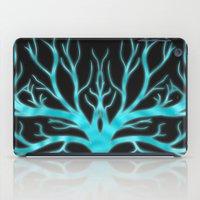 Ghostly Vines (Electric Blue Spirit) iPad Case
