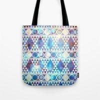 Tribal Storm Tote Bag