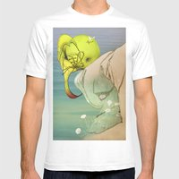 Viagem#1 Mens Fitted Tee White SMALL
