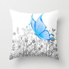 Fantasy Butterfly #2 Throw Pillow