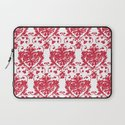 giving hearts giving hope: red damask Laptop Sleeve