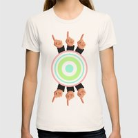 Ceilings Of Sea Foam  Womens Fitted Tee Natural SMALL