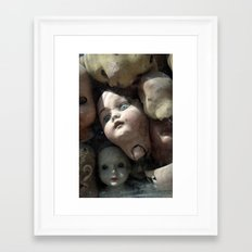 Heads Framed Art Print