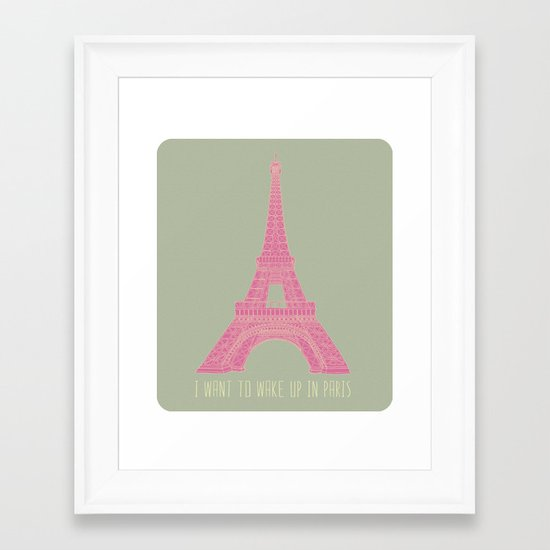 OUI OUI Framed Art Print