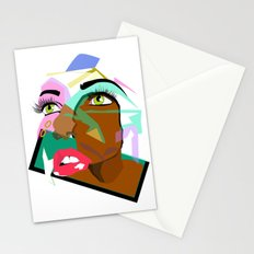 Anyone: I N  B L A C K  Stationery Cards