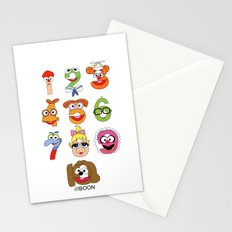 Muppet Babies Numbers Stationery Cards