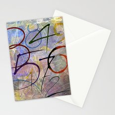Days are numbers Stationery Cards