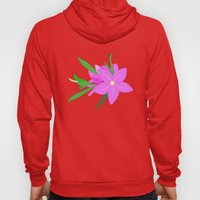 Flowers On The Wall  Hoody