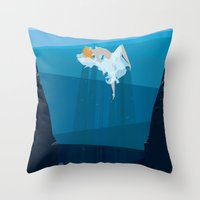 Sea Dance Throw Pillow