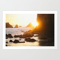 El Matador Sunset Art Print