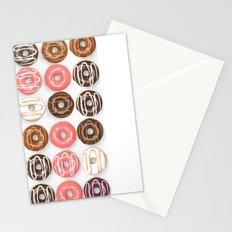 So Many Donuts Stationery Cards