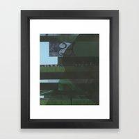 Lawn study 1 Framed Art Print