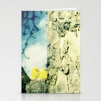 Little Yellow Chicks Stationery Cards