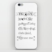 The Quick iPhone & iPod Skin