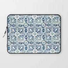 tile pattern IV - Azulejos, Portuguese tiles Laptop Sleeve