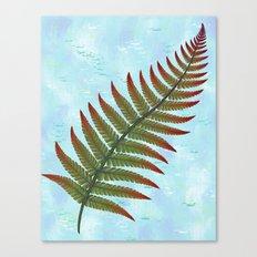 Fern Leaf 2 Canvas Print