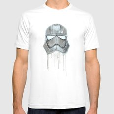 Captain Phasma - Empty Masks Mens Fitted Tee SMALL White