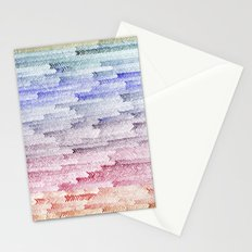 painted waterfall Stationery Cards