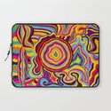 The Dancing Colors Laptop Sleeve