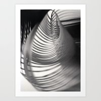 Paper Sculpture #9 Art Print