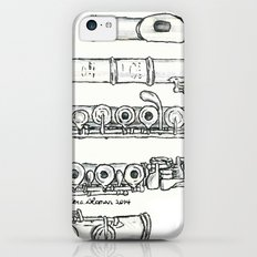 Flöte iPhone 5c Slim Case