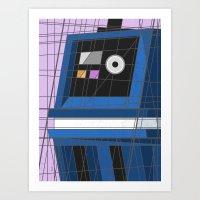 Gonk, Power Deco Driod Art Print
