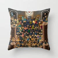 Super Game Of Thrones Throw Pillow
