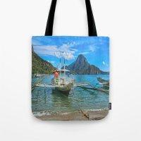 Palawan Beach Philippine… Tote Bag