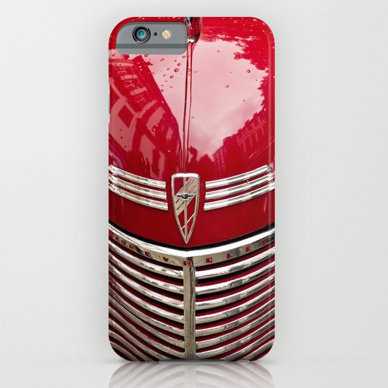 red chevy iPhone & iPod Case