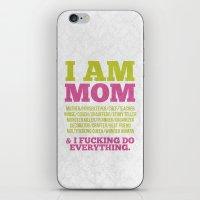 I Am Mom iPhone & iPod Skin
