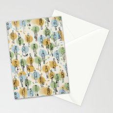 64 Popular People and a Dog (Pattern) Stationery Cards