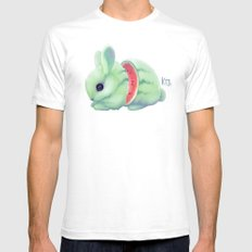Bunnymelon Mens Fitted Tee White SMALL