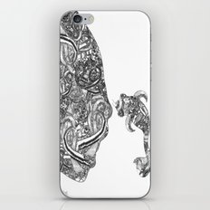 Homme Poisson B&W iPhone & iPod Skin
