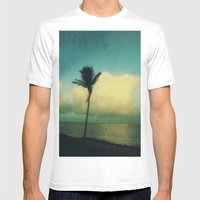 sunset solo Mens Fitted Tee White SMALL